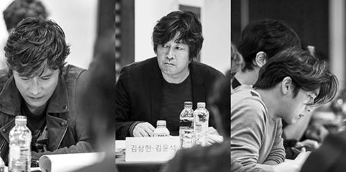 演員李炳憲(左起)、金允石、高洙