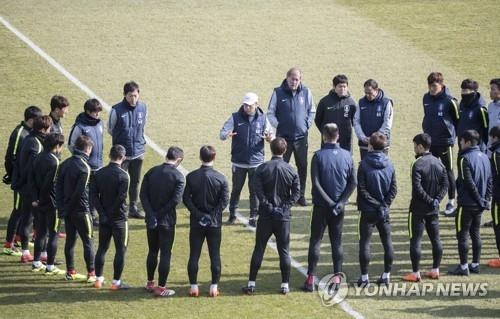 南韓國足發世界盃召集令 出國前淘汰5人