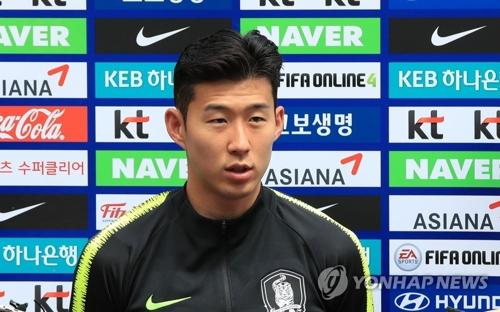 韓球星孫興慜入圍俄羅斯世界盃50強選手