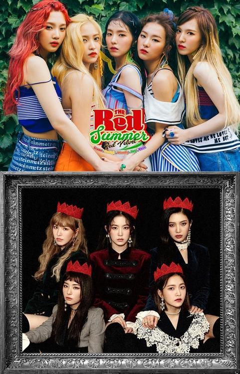 Red Velvet又兩支熱歌MV播放量破億