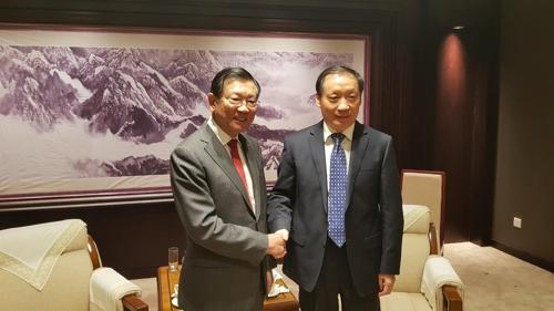韓中友協會長在京與中國文化和旅遊部領導會面