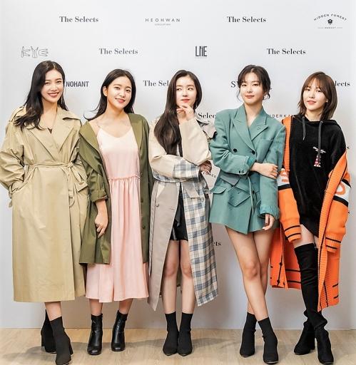 Red Velvet參與南韓時裝品牌設計 新品在美公開