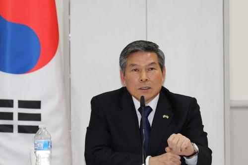 韓防長:美方重申移交戰權後仍將提供軍事支援