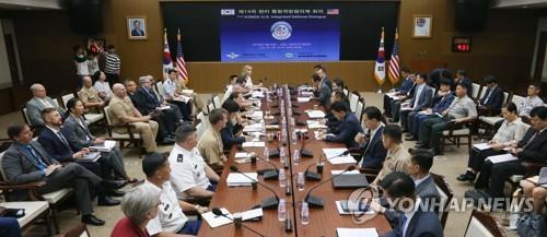 韓美聯合國防協商機制第15次會議本週在美舉行