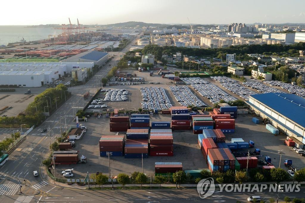 韓6月前10天出口同比減少16.6%