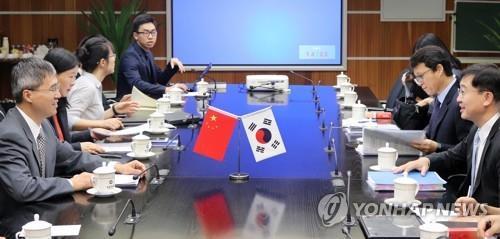 韓中自貿協定第二階段第五輪談判明在首爾啟動
