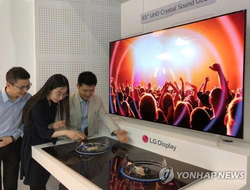 南韓6月OLED面板對日出口創單月曆史新高