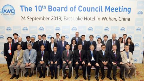 韓中水資源管理機構將簽水利合作協議