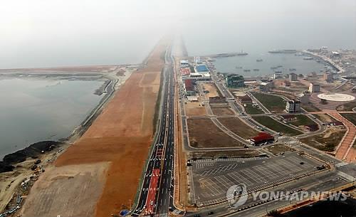 韓中產業園交流會在新萬金舉行