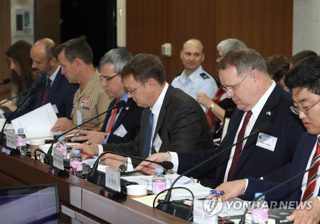 韓美第16次聯合國防協商機制會議閉幕