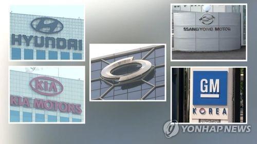南韓五大整車廠商9月銷量同比減2.2%