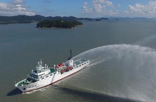 韓中漁政船本週聯合巡邏打擊非法作業