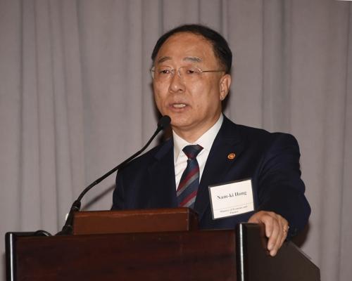 韓財長在美辦經濟說明會強調國內經濟穩健