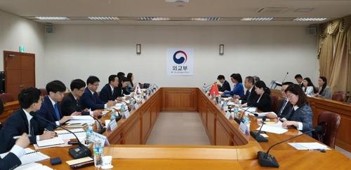 韓中第21輪領事磋商在首爾舉行