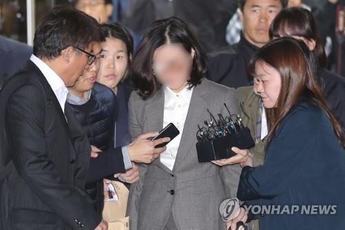 詳訊:南韓前法務部長之妻被批捕
