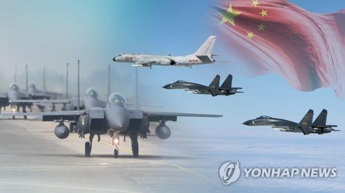 中國戰機通報飛行計劃後入南韓防識區引關注