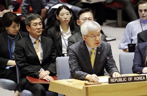韓官員在安理會會議吁恢復慰安婦受害者名譽