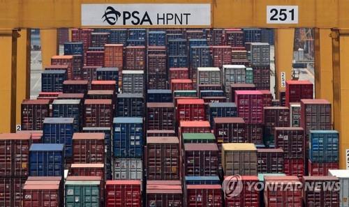 韓10月出口同比減少14.7%