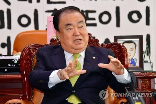 南韓會議長將訪日提議修復雙邊關係