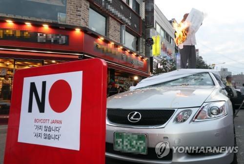 南韓10月日係車銷量同比下降58%