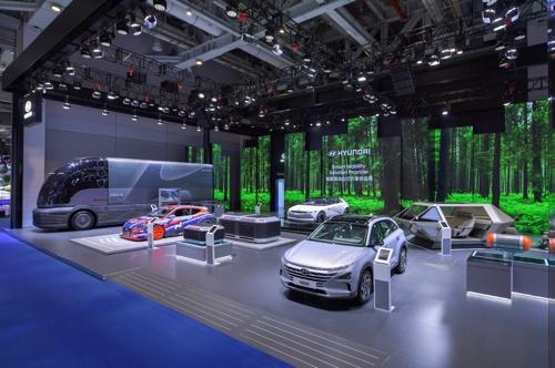 現代汽車集團三大品牌重磅亮相中國進博會