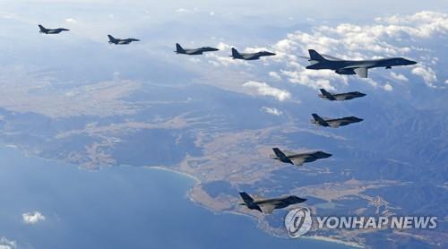 韓美本月中旬實施聯合空演 規模縮小