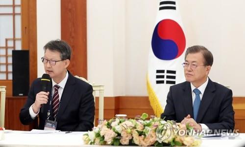 韓聯社社長:將致力傳播韓政府為促和平所作努力