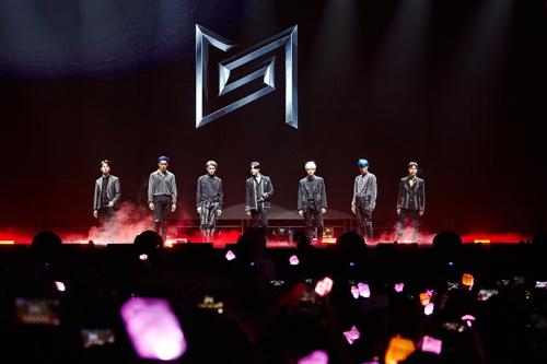 跨團組合SuperM開啟北美巡演