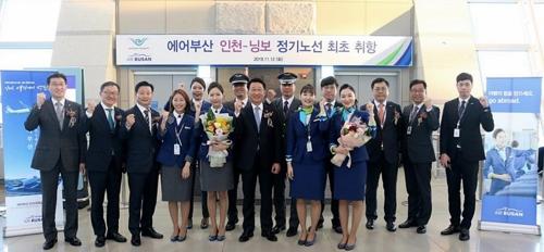 釜山航空先後開通四條仁川出發國際線