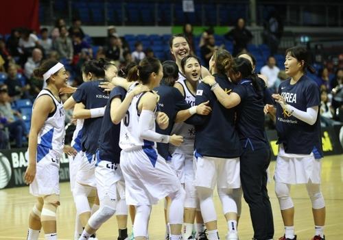 女籃東京奧運資格賽南韓以一分之差險勝中國