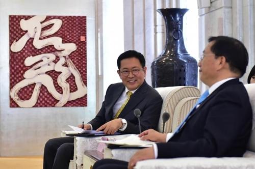 仁川市長率團訪華力推與渝魯經濟合作