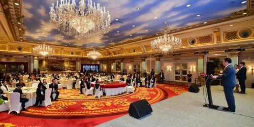 資料圖片:11月11日,在重慶,仁川市政府舉行旅遊推介會。 仁川市政府供圖(圖片嚴禁轉載複製)