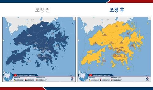 南韓上調赴港旅遊安全預警