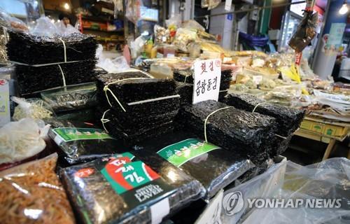 今年南韓紫菜出口刷新紀錄