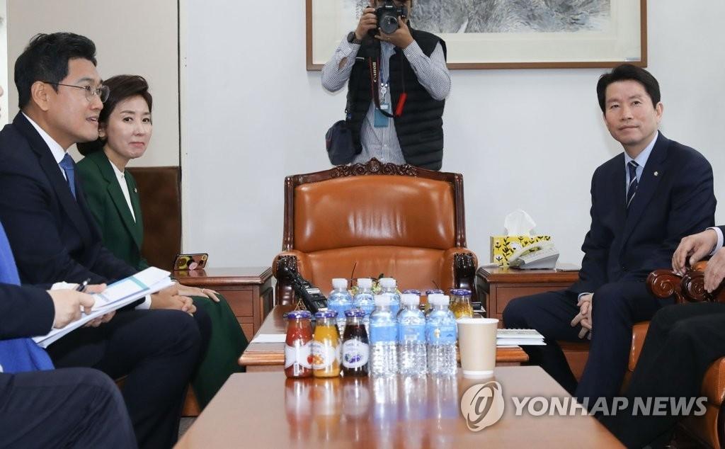 韓三黨鞭明訪美砍價配合軍費談判