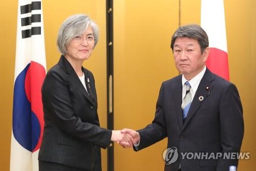 韓外長:將與日協調爭取下月舉行韓日首腦會談