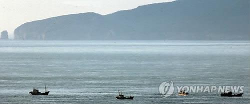 韓軍驅離黃海越界南下朝鮮商船