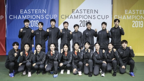韓朝男女乒隊贏得東方冠軍盃冠軍