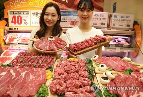 南韓前10月美國牛肉進口量創新高