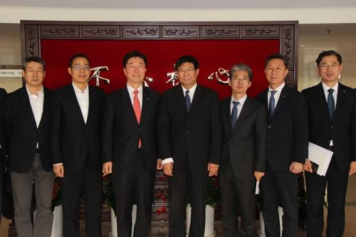 南韓鐵道施設公團理事長金相均訪華力促鐵路合作