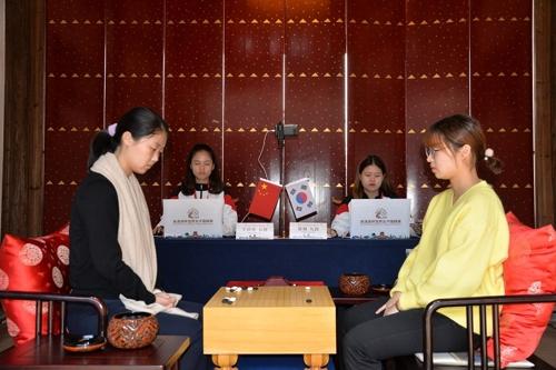 吳清源杯南韓棋手崔精戰勝王晨星奪冠