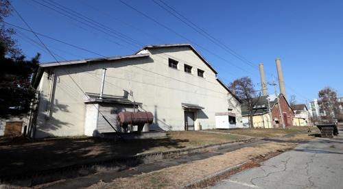 資料圖片:富平美軍基地內日本陸軍造兵廠遺址 韓聯社
