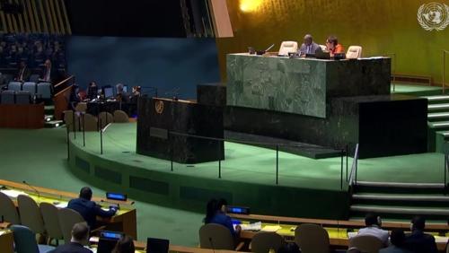 聯合國大會連續15年通過朝鮮人權決議