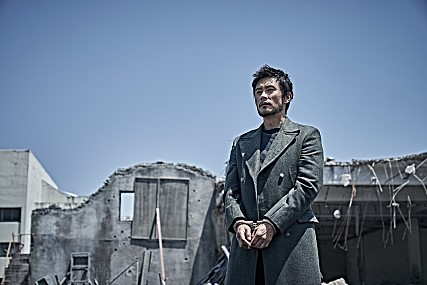 《白頭山》劇照 CJ娛樂供圖(圖片嚴禁轉載複製)
