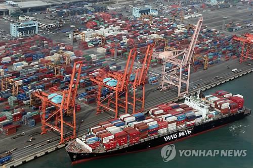統計:2018年南韓對外出口近七成依賴大企業
