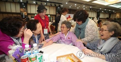 韓政府:明年將積極支援韓朝離散家屬民間交流