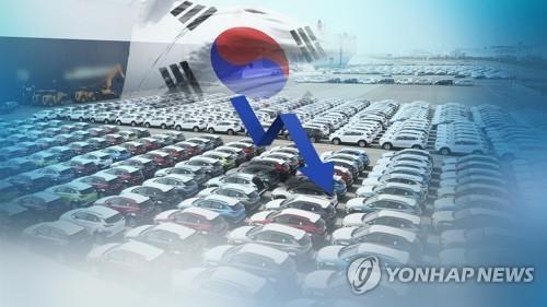 南韓五大整車廠商去年銷量同比減3.8%
