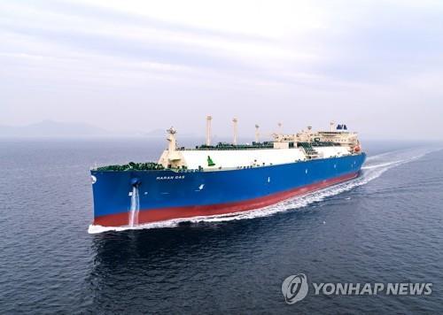 韓造船廠訂單量連續兩年居全球第一