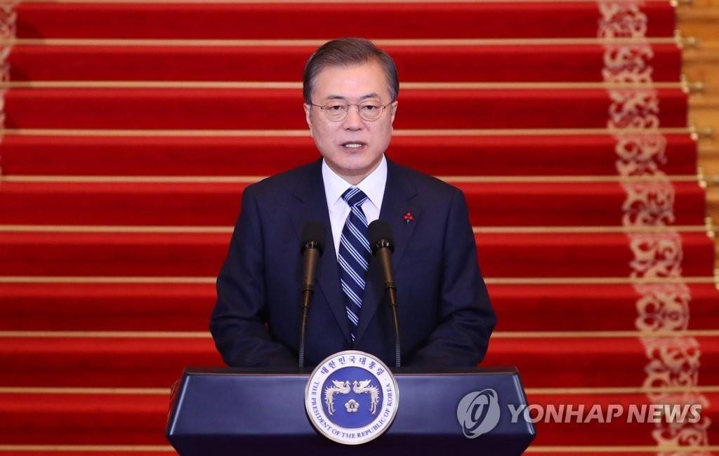 詳訊:文在寅發表新年詞吁韓朝合力促成金正恩訪韓