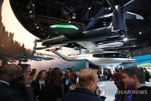 CES看汽車未來:車企朝著空運和城建轉型